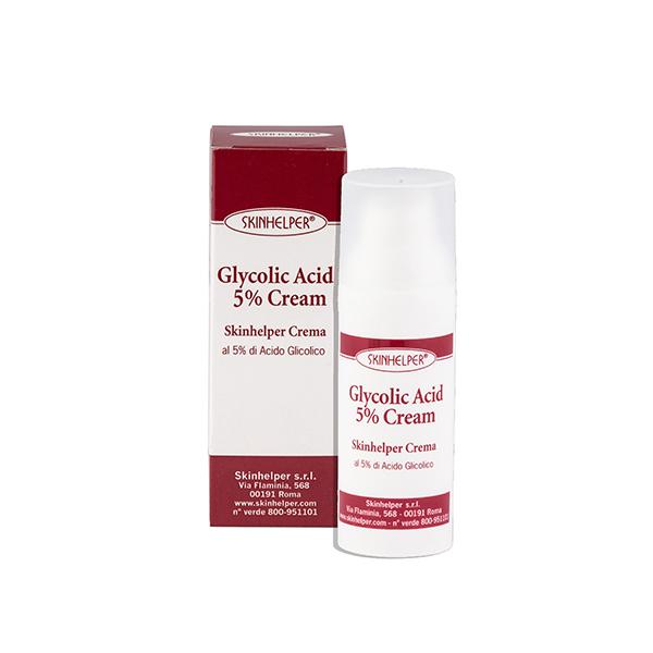 Skinhelper Crema al 5% di Acido Glicolico